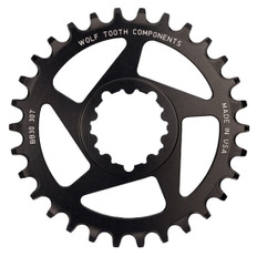 32T SRAM Direct Mount BB30 Short Spindle Black