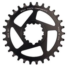34T SRAM Direct Mount BB30 Short Spindle Black