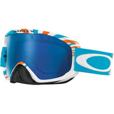 O2 MX RPM Orange / Blue Black Ice Iridium