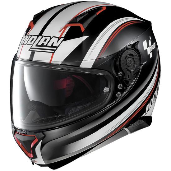 N87 MotoGP N-Com Flat Black