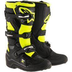 Tech 7S Junior Black / Yellow Fluo