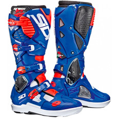 Crossfire 3 SRS White / Blue / Red Fluo