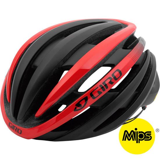 Cinder MIPS Matte Black / Bright Red