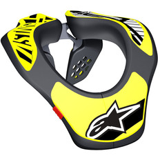 Neck Support Junior Black / Yellow Fluo