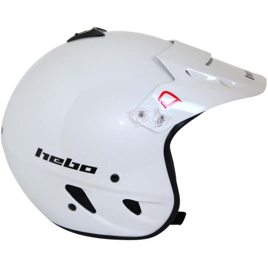 Hebo Trial Zone Polycarbonate Helmet Size XL White