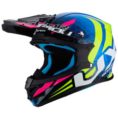 VX-21 Air Xagon Blue / Neon Yellow