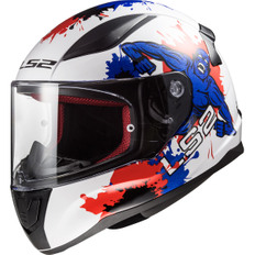 FF353J Rapid Mini Monster White / Blue