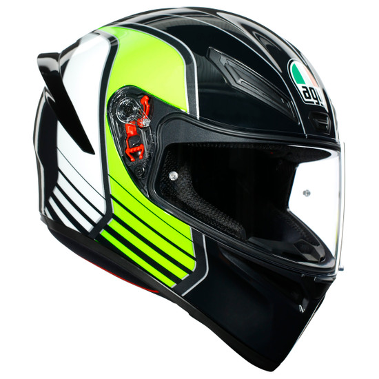 K-1 Power Gunmetal / White / Green