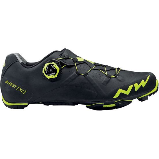 Ghost XC Black / Yellow Fluo