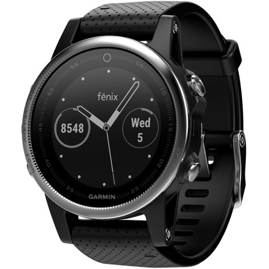Fēnix 5S Siver with Black Band