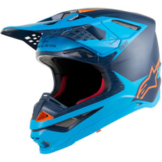 Supertech S-M10 Meta Black / Aqua / Orange Fluo