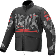 Venture R Gray Camo / Red Fluo