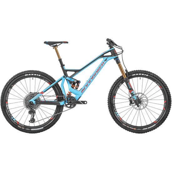 "Dune Carbon XR 27,5"" 2019 Blue Sky / Flame Red / Carbon"