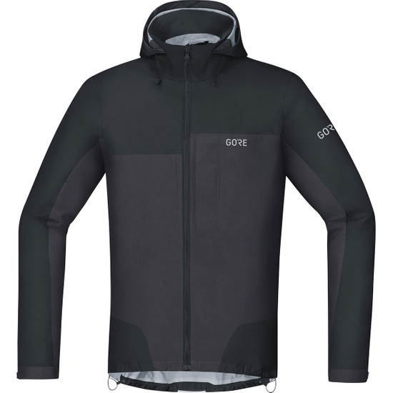 C5 Gore-Tex Active Trail Hooded Black / Terra Grey