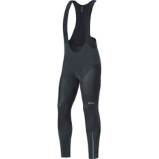 C7 Partial Gore Windstopper Pro Bibtights Black