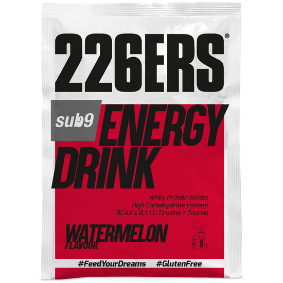Sub9 Energy Drink 50gr. Monodose Watermelon