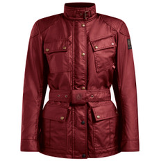 Trialmaster Pro Waxed Cotton Lady Racing Red
