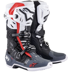 Tech 10 Supervented Black / White / Gray / Red