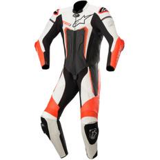 Motegi V3 Professional Black / White / Red Fluo
