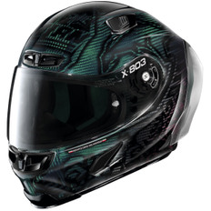 X-803 RS Ultra Carbon Replica Casey Stoner Superhero Carbon Nuance Green / Red