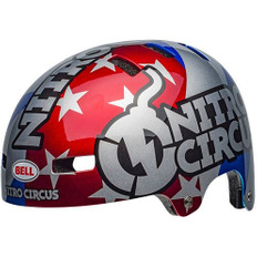Local Nitro Circus Gloss Silver / Blue / Red
