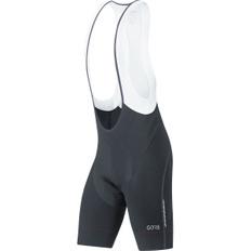 C7 Partial Thermo Bib Shorts + Black