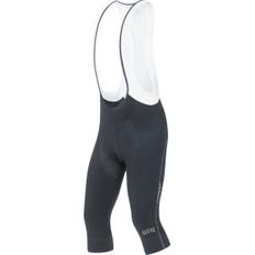 C7 Partial Thermo 3/4 Bib Shorts + Black