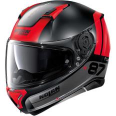 N87 Plus Distinctive N-Com Flat Grey / Red