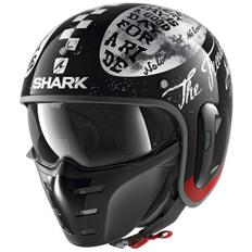 S-Drak 2 Tripp In Black White / Red