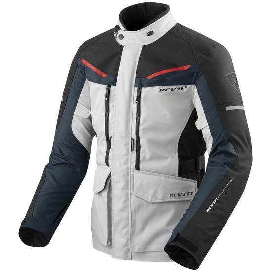 Querido masa Adaptabilidad  REVIT Safari 3 Silver / Blue Jacket · Motocard