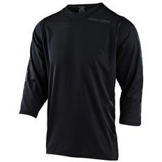 Ruckus 3/4 Sleeve Solid Black