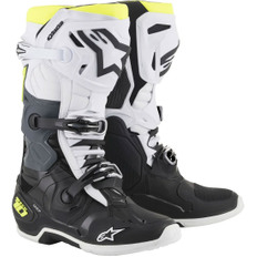 Tech 10 Black / White / Yellow Fluo