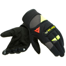 VR46 Curb Short Black / Anthracite / Fluo-Yellow