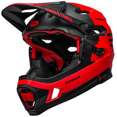 Super DH Spherical Fasthouse Matte Red / Black