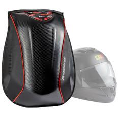 Motorcycle Helmet Backpack Black