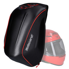 Motorcycle Helmet Backpack Black