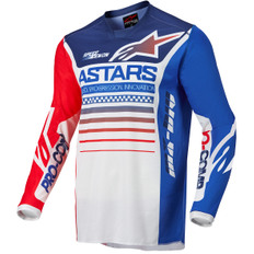 Racer Compass White / Fluorescent Red / Blue
