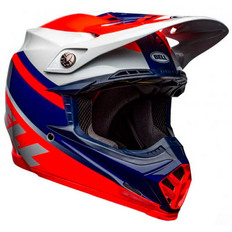 Moto-9 MIPS Prophecy Red / Navy / Gray