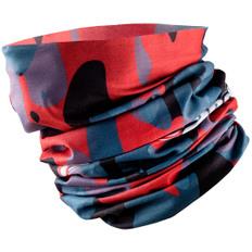 Neck Warmer MTC Camo Black / Red