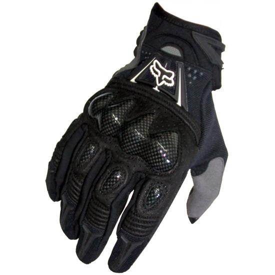 FOX Bomber 2019 Black Gloves
