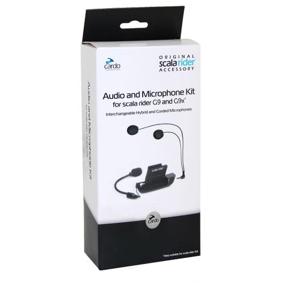 Electronique CARDO AUDIO & MICROPHONE KIT G9 / G4
