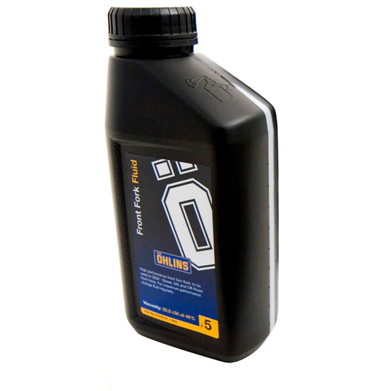 Aceite y Spray OHLINS FORK OIL 1L. (SAE 7,5 APROX.) 01309-01