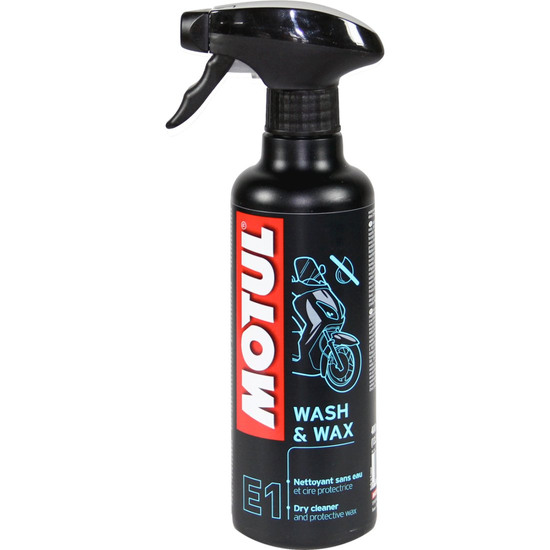 MOTUL WASH AND WAX Oil and spray