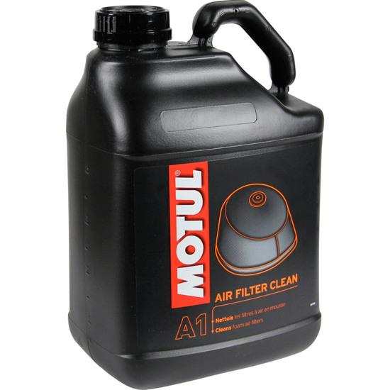 Olio e spay MOTUL AIR FILTER CLEAN 5L.
