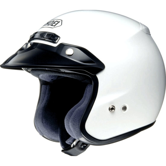 Casco SHOEI RJ Platinum-R White