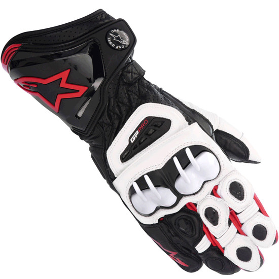 Guanto ALPINESTARS GP Pro Black / White / Red
