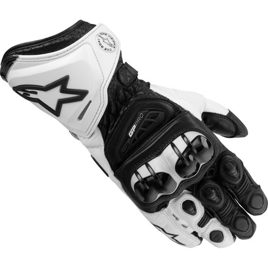 ALPINESTARS GP Pro Black / White Gloves