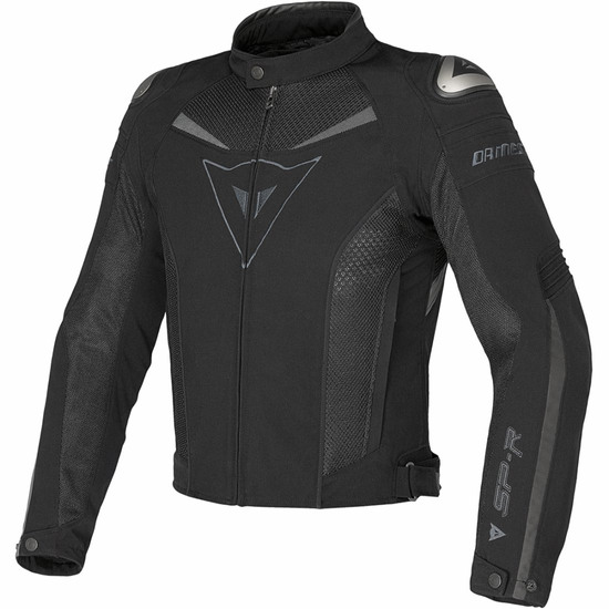 DAINESE Super Speed Tex Black / Grey Jacket