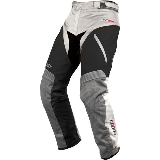 Calças ALPINESTARS Andes Drystar SE Light Gray / Black