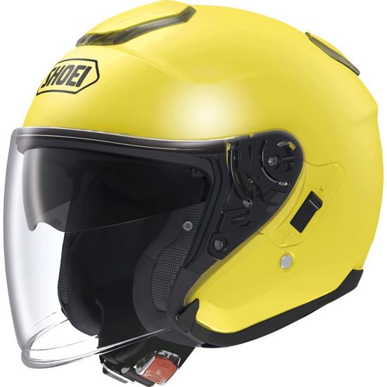 SHOEI J-Cruise Yellow Helmet